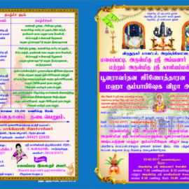 Malaipatti Arulmigu Shri ayyanaar swami kovil and Arulmigu shri Kaliamman Kovil Kumbabishekam