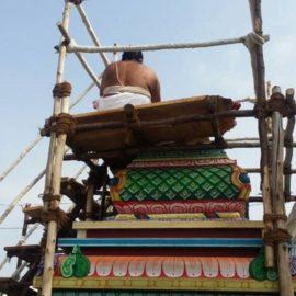 அருள்மிகு ஆதிமாரியம்மன் கோயில் ஜீர்ணோத்தராண அஷ்டபந்தன மஹாகும்பாபிஷேகம் அழைப்பிதழ்