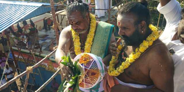 சூரியனார்கோவில் வினாயகர், ஐயனார் , பிடாரி அம்மன் கோயில்களில் கும்பாபிஷேகம்