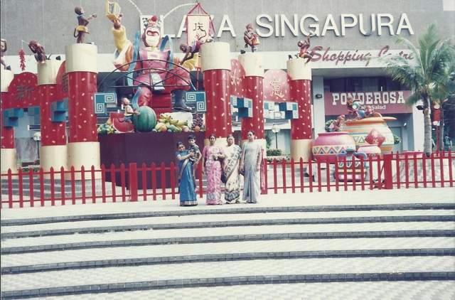 Singapore and Malaysia Tour – 1991-1992