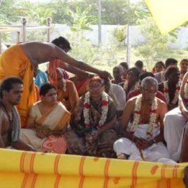Shri Agathiyar Lopamudra Homam at Shri Thulaseeshwarar Temple Part 2