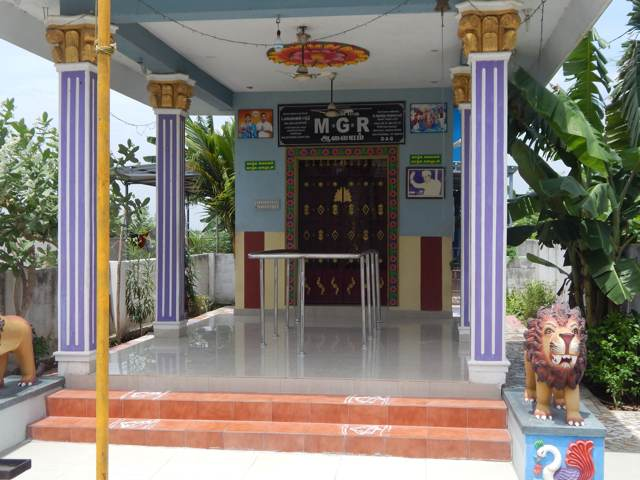 MGR TEMPLE