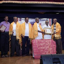 SRI KRISHNA SWEETS AND ILAKKIYA VEETHI 'ANNAM VIRUTHU' AWARD FUNCTION