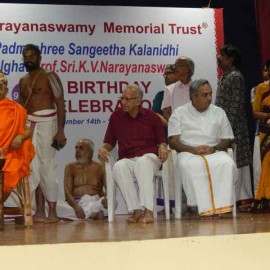 1.  MR.K.V.NARAYANASWAMY 92ND BIRTHDAY CELEBRATIONS – Part 2