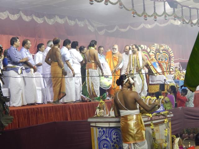 ஸ்ரீஆரோக்கியலக்ஷ்மி சமேத தன்வந்திரி பெருமாள் ஆலய மஹா கும்பாபிஷேகம் – Part-2