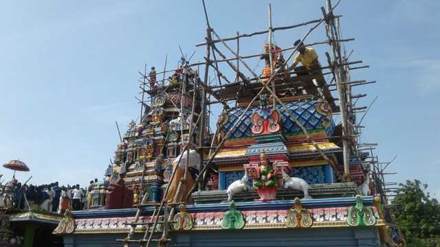 Shri Thirumeniazhagar Thirukovil Kumbabisekam